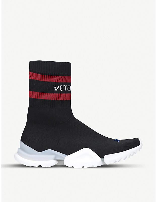 x Reebok Sock Pump stretch-knit trainers