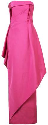 Rubin Singer strapless faille gown