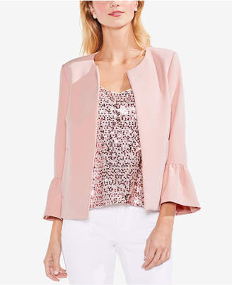 Vince Camuto Bell-Sleeve Open-Front Blazer