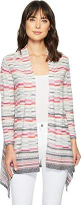Nic+Zoe Women's Color Mix Cardy