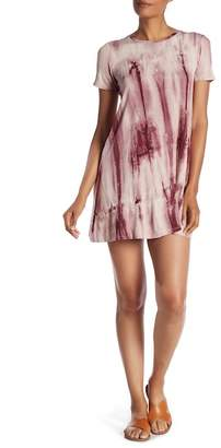 Bobeau Tie-Dye T-Shirt Dress