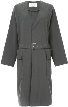 ASTRAET oversized belted coat