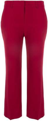 Max Mara cropped Cady trousers
