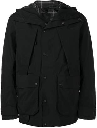 The North Face buttoned hooded jacket