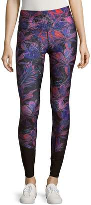 We Are Handsome Women's Contrast Panelled Leggings