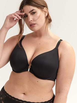 dff566a3f6f Plunge Bra with Front-Closure - Deesse Collection