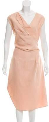 Narciso Rodriguez Open Back Midi Dress
