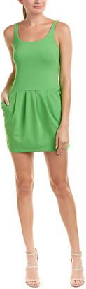 Susana Monaco Pleated Sheath Dress