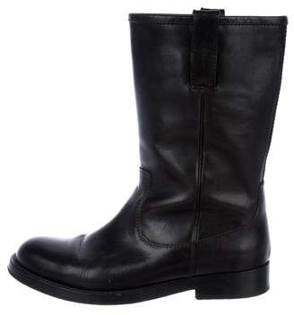 Ralph Lauren Black Label Tall Leather Boots