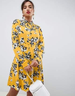 Vila long sleeved shirt dress