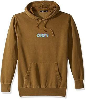 Obey Men's Creep Scan Hooded Fleece Sweatshirt