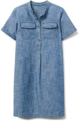 Crazy 8 Crazy8 Chambray Shirt Dress