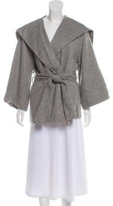 The Row Oversize Open Front Jacket
