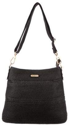 Eric Javits Straw Crossbody Bag