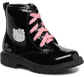 Hello Kitty Kids's Basila Lace-up Ankle Boots in Black