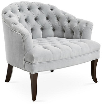 Haute House Swoon Accent Chair - Cannon Gray