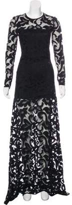 Alexis Guipure Lace Long Sleeve Dress w/ Tags