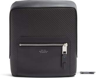 Smythson Greenwich woven-leather tech case