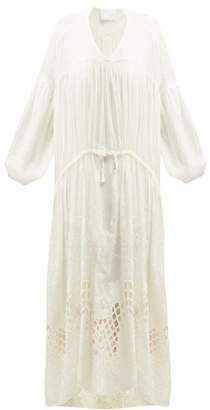 Binetti Love Summer Breeze Cotton Dress - Womens - White