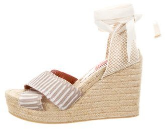 Missoni Crossover Espadrille Wedges