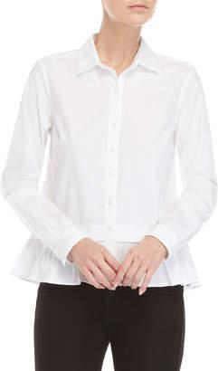 U.S. Polo Assn. Ruffle Hem Shirt