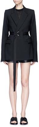 Georgia Alice 'Void' belted blazer