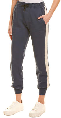Solid & Striped Two-Tone Jogger