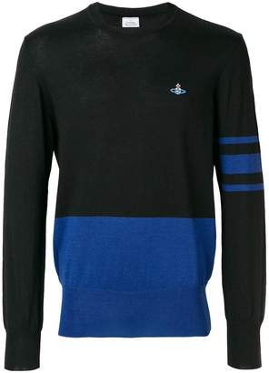 Vivienne Westwood Man embroidered logo jumper