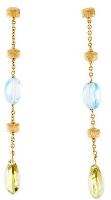 Marco Bicego Citrine & Topaz Paradise Drop Earrings