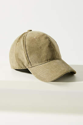 Anthropologie Corduroy Baseball Cap