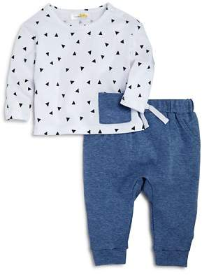 Bloomingdale's Bloomie's Boys' Triangle-Print Tee & Jogger Pants Set, Baby - 100% Exclusive