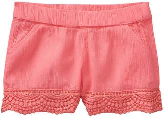 Crazy 8 Crazy8 Toddler Crochet Trim Shorts