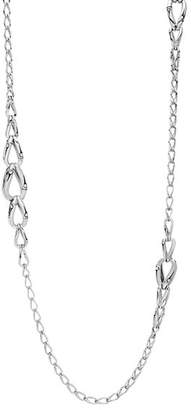 John Hardy Sterling Silver Bamboo Loop Necklace, 36""