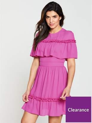 Very Mock Cape Dress