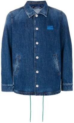 Kenzo striped back denim jacket