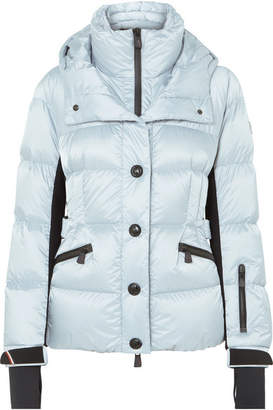 Moncler Antabia Quilted Down Shell Jacket - Light blue
