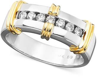 Macy's Men's Diamond Ring in 14k Gold (1/3 ct. tw.)