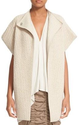 Women's Zero + Maria Cornejo Zoe Cashmere & Wool Gilet $1,295 thestylecure.com