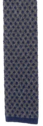 Kiton Intarsia Cashmere Tie