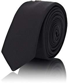 Saint Laurent Men's Studded Silk Necktie-Black