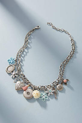 Anthropologie Dannijo Amabella Charm Necklace