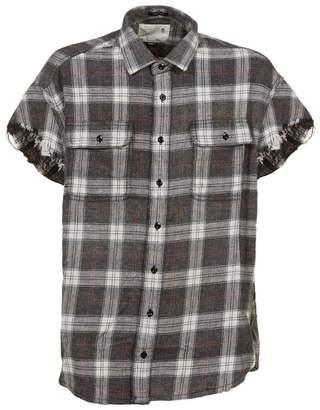 R 13 Checkered Shirt