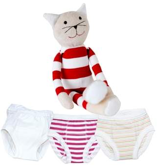 Under the Nile 4-Piece Training Pants & Tilly Stuffed Animal Set