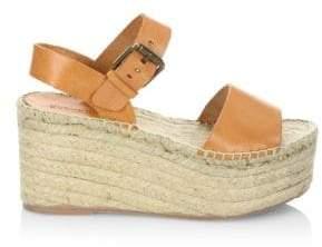 Soludos Women's Minorca Leather High Platform Sandals
