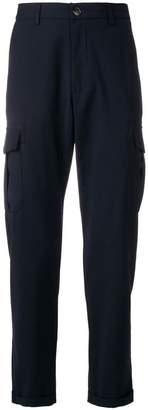 Eleventy slim-fit cargo trousers