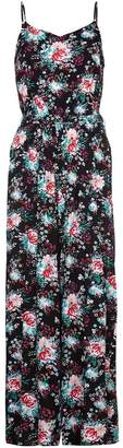 Yumi Womens/Ladies Flower Print Jumpsuit