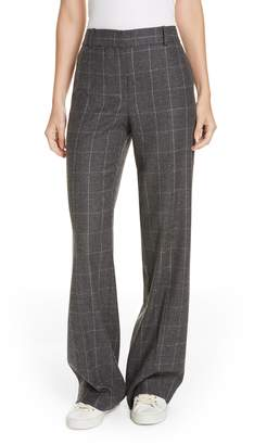 Equipment Hagan Plaid High Waist Trousers
