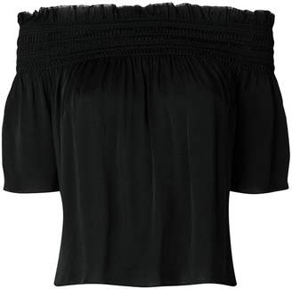 Saint Laurent off-the-shoulder blouse