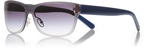 Tory Burch Etched 't' Sunglasses
