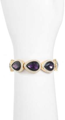 MONET JEWELRY Monet Jewelry Womens Purple Stretch Bracelet